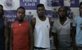 [Cinco suspeitos de tráfico de drogas são presos em Mata de São João]