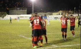 [Vitória goleia o Jacobina por 4 a 1 e segue 100% no Campeonato Baiano]