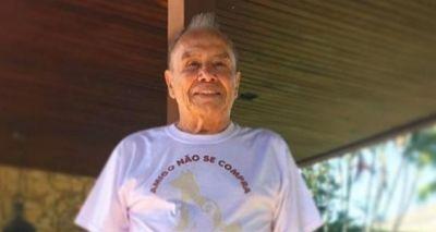 Stênio Garcia sofre acidente em casa, fratura duas costelas e é internado no Rio