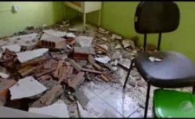 [Médico fica ferido após parte de teto de posto de saúde desabar na Bahia]