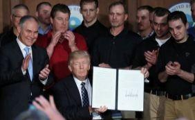 [Trump anuncia revogação das principais medidas climáticas de Obama]