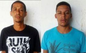 [Suspeitos de tráfico são presos e 14 tabletes de drogas são apreendidos]