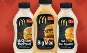 [McDonald's anuncia venda de molhos do Big Mac, McFish e McChicken]
