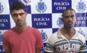 [Polícia prende dupla suspeita de assalto em Santo Antônio de Jesus]