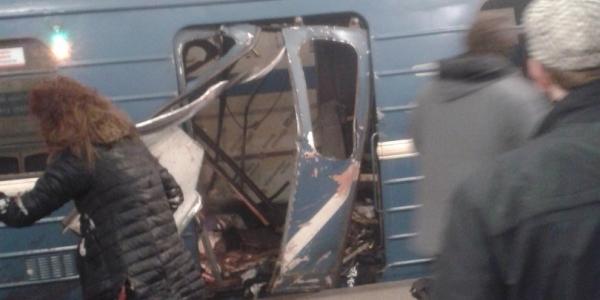 [Explosões matam 10 pessoas e ferem dezenas em metrô na Rússia ]