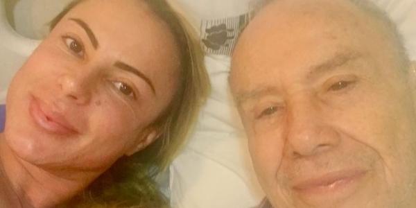 [Stênio Garcia pede \'corrente de saúde\' para esposa em coma: \'Vai dar tudo certo\']