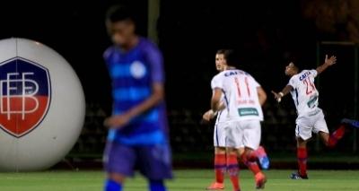 Bahia vence o Atlântico por 3 a 0 em Pituaçu pelo Baianão