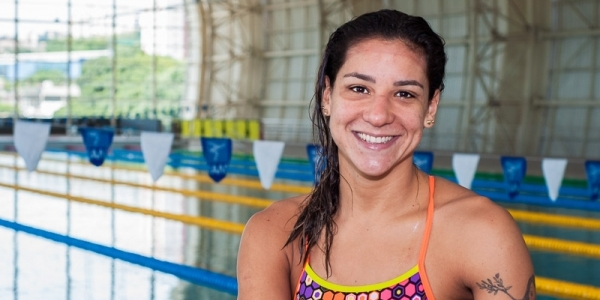 [Nadadora comemora prisão do presidente da Confederação Brasileira de Desportos Aquáticos ]
