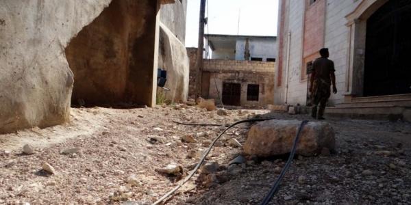 [ Bombardeios aéreos deixam pelo menos 15 mortos na Síria ]
