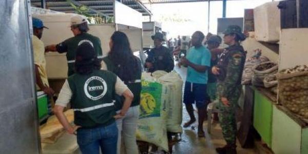 [Defeso: quarenta quilos de pescados são apreendidos pela polícia em Itapuã ]