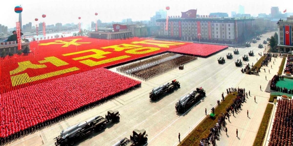 [Coreia do Norte se prepara para ataque nuclear contra os EUA]