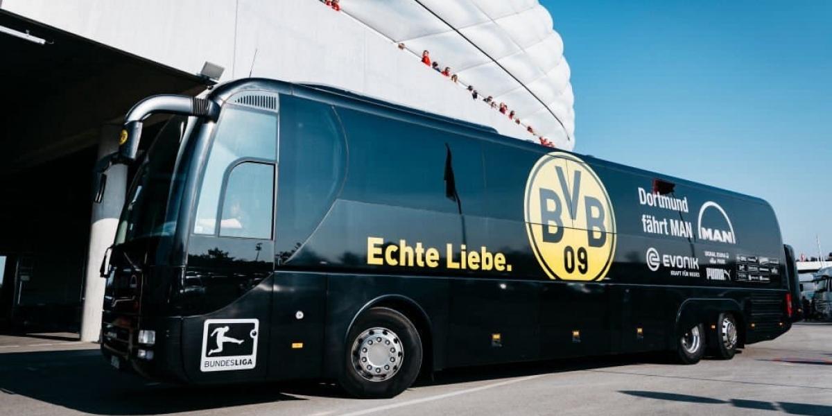[Liga dos Campeões: ônibus de time alemão sofre explosão a caminho de estádio]