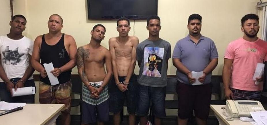 [Feira de Santana: sete integrantes de quadrilha de roubo a carros são presos]