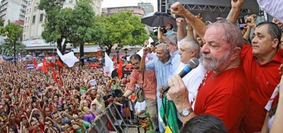 [Lula garante que vai concorrer à presidência em 2018: \'Vou mostrar que esse país pode ser feliz\']
