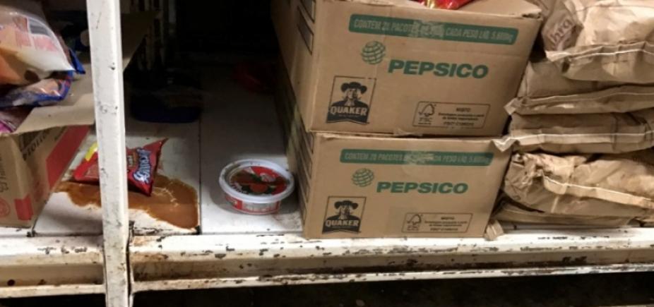 [Baratas, ratos... Supermercados abusam sem ar condicionado ou higiene adequada]
