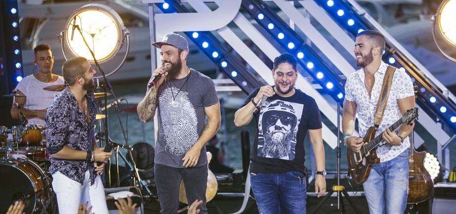 [Jorge e Mateus participam de nova música do DVD de Rafa e Pipo; assista]