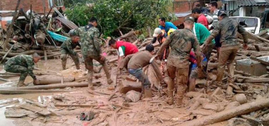 [Número de mortos em avalanche na Colômbia já ultrapassa 320]