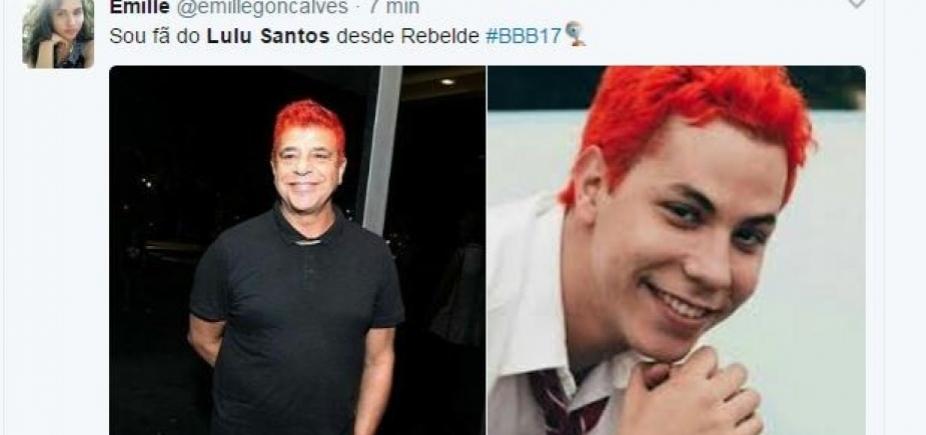 [Lulu Santos rebate críticas ao novo visual: 'Sou mais meu cabelo vermelho do que a caretice']