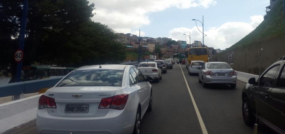 [Acidentes deixam o trânsito complicado no Dique e em Sete de Abril; confira ]
