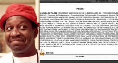 Diário de Justiça publica pegadinha inspirada nos Trapalhões