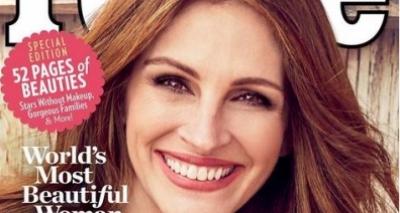 Julia Roberts é eleita a mulher mais bonita do mundo pela 5 vez