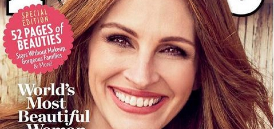 [Julia Roberts é eleita a mulher mais bonita do mundo pela 5 vez]