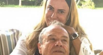 Mulher de Stênio Garcia deixa UTI após coma e já consegue falar