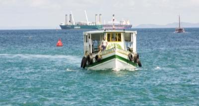 Travessia entre Salvador e Mar Grande é suspensa por conta do tempo