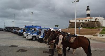Efetivo da operação Tiradentes terá mais de 7800 policiais