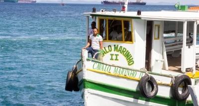 Travessia Salvador-Mar Grande volta a ser suspensa por conta das chuvas
