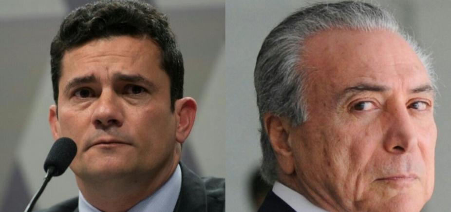 [Sérgio Moro \'cumpre seu papel como um integrante do Judiciário\', diz Michel Temer ]