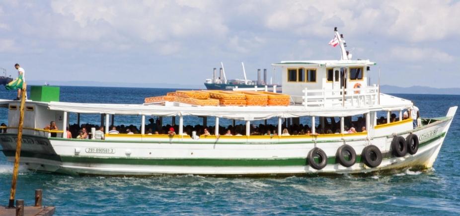 [Travessia Salvador - Mar Grande encerra operações mais cedo neste domingo por conta da maré baixa]