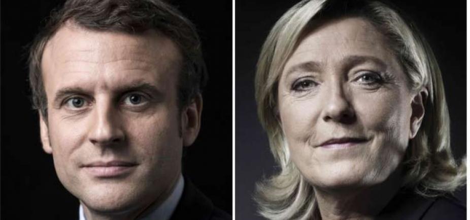 [Projeções indicam Macron e Le Pen no 2° turno das eleições na França]