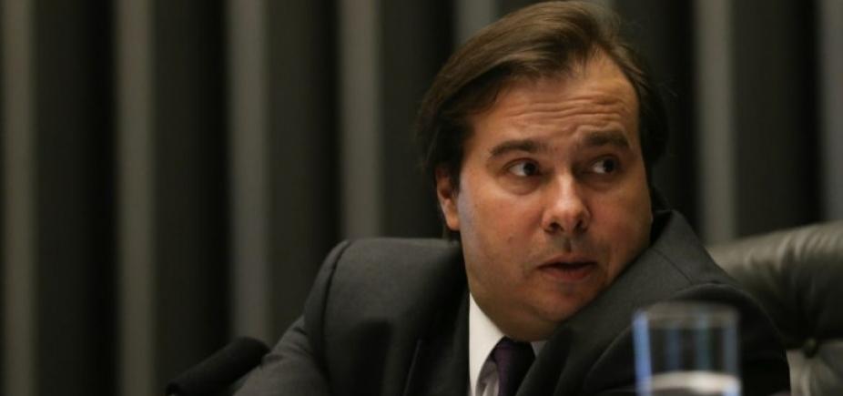 ['Não vamos mais ceder na reforma da Previdência', diz Rodrigo Maia]