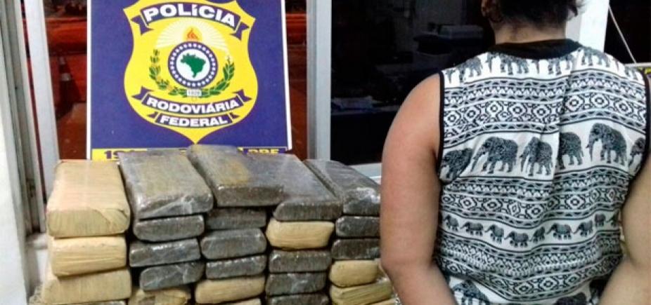 [Três suspeitos de tráfico são presos com mais de 100kg de maconha em Vitória da Conquista]