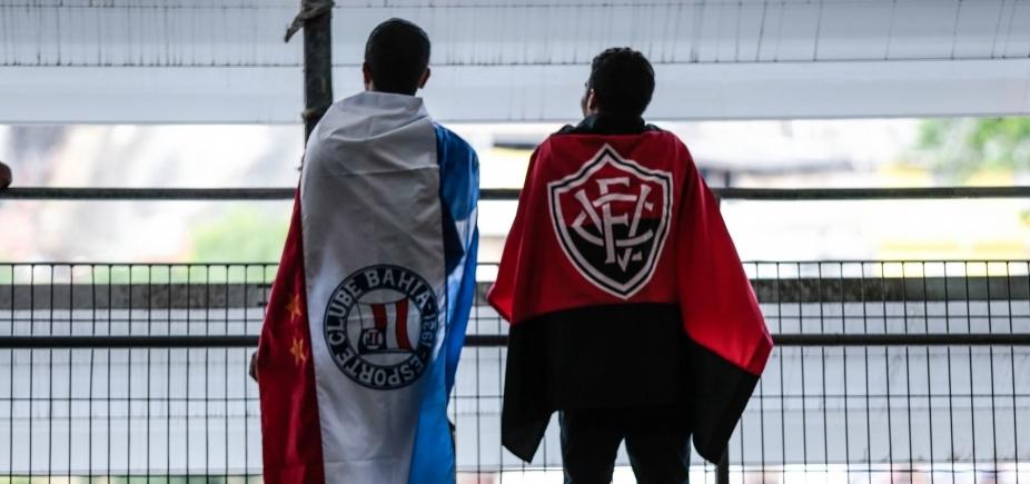 [Bahia e Vitória dizem não a pedido do MP e rejeitam torcida única em clássicos]
