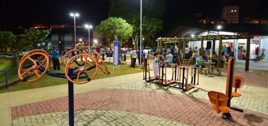 [Prefeitura entrega praças requalificadas em Vale dos Lagos e Castelo Branco]