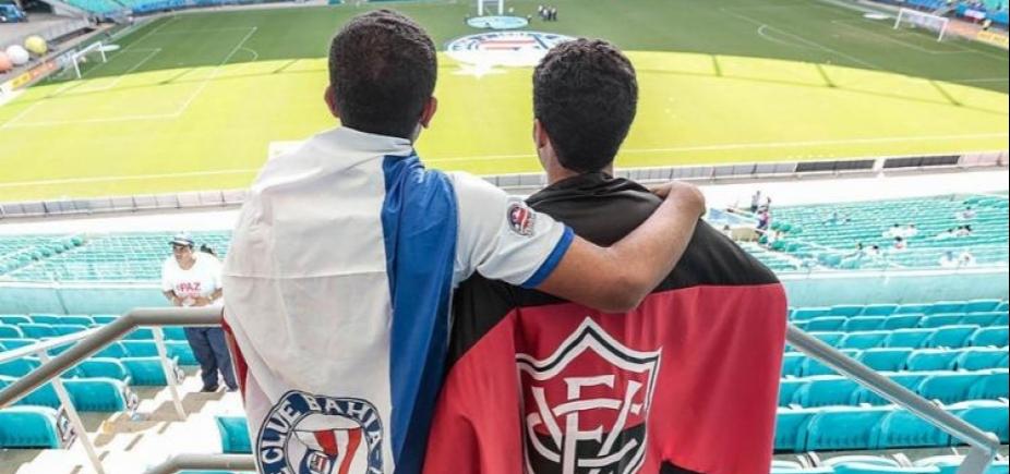 [\'A Federação e os clubes não concordam\', diz presidente da FBF sobre torcida única nos Ba-Vis]