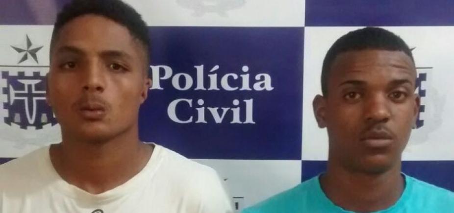 [Dois suspeitos de homicídio são presos em Catu]
