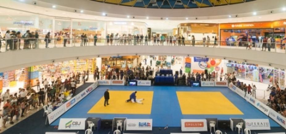 [Campeonato de judô acontece no fim de abril em praça de shopping de Salvador]