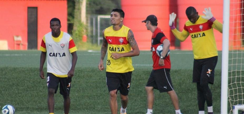 [Com Kieza de titular, Vitória define time para enfrentar o Bahia no Nordestão]
