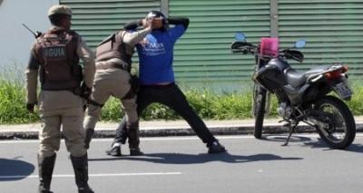 Salvador e RMS registram 21 veículos roubados no final de semana