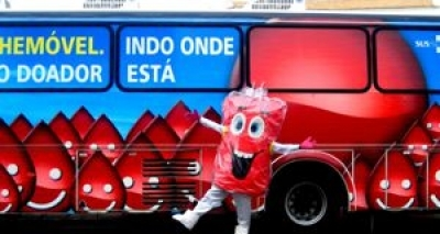 Hemóveis atendem no Shopping da Bahia e no Salvador Shopping durante esta semana
