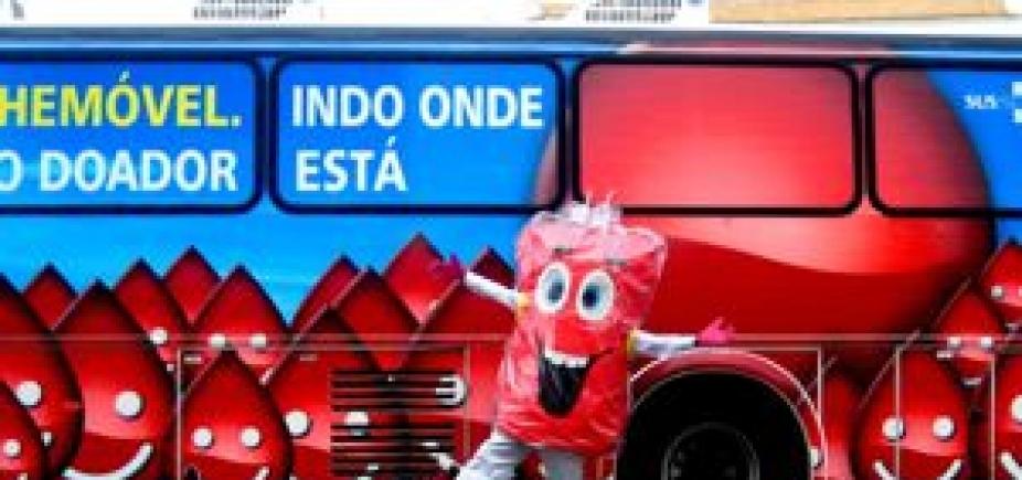 [Hemóveis atendem no Shopping da Bahia e no Salvador Shopping durante esta semana]