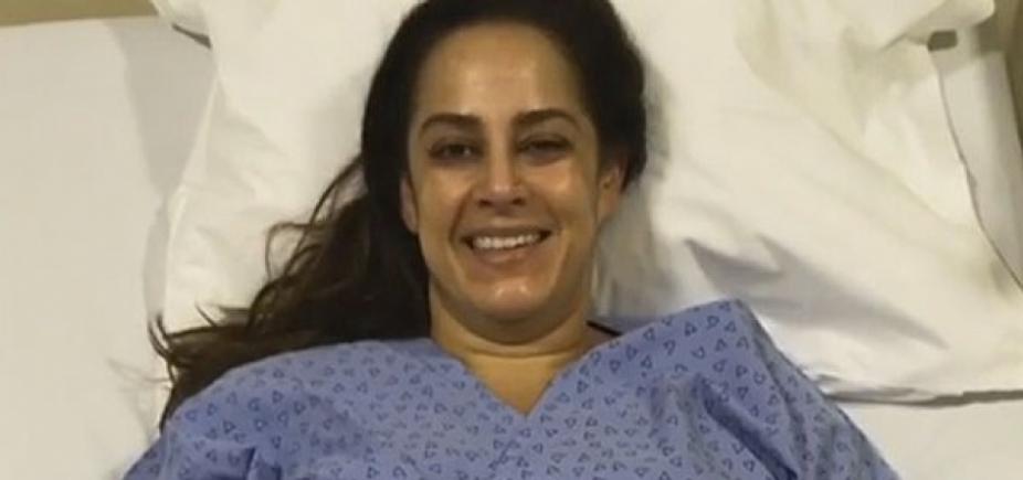 [Apresentadora do SBT é internada em hospital de São Paulo ]