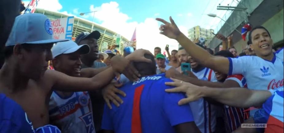 [Nos braços do povo: vídeo mostra bastidores do triunfo tricolor no Ba-Vi]