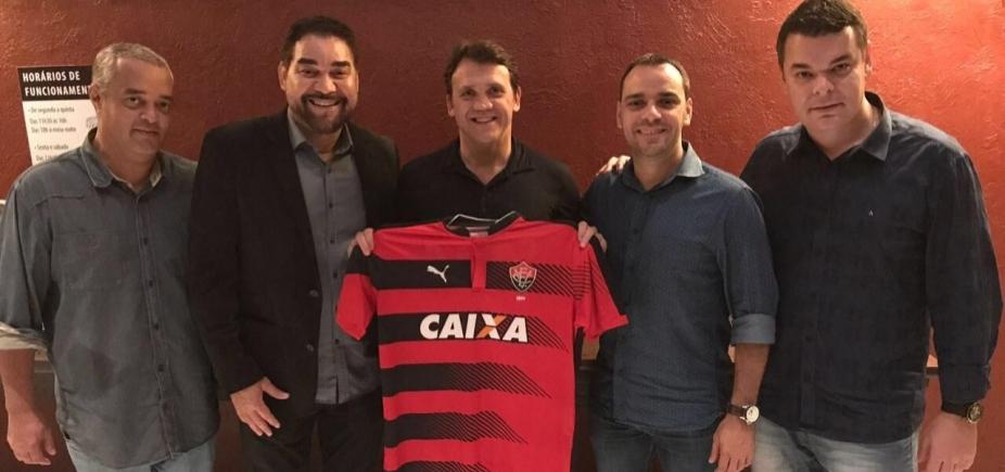 [Vitória anuncia Petkovic como novo gerente de futebol profissional do clube]