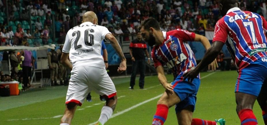 [Bahia e Vitória empatam em 1 a 1 no primeiro jogo da final do Campeonato Baiano 2017]