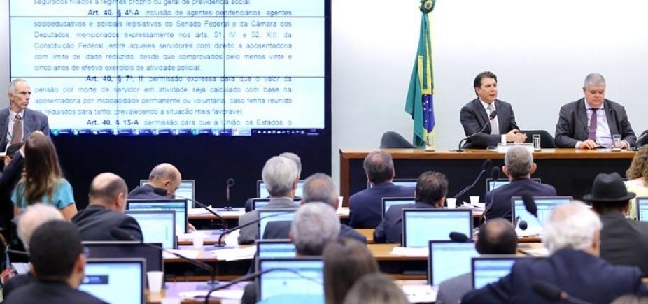 [Texto-base da reforma da Previdência é aprovado por comissão da Câmara]
