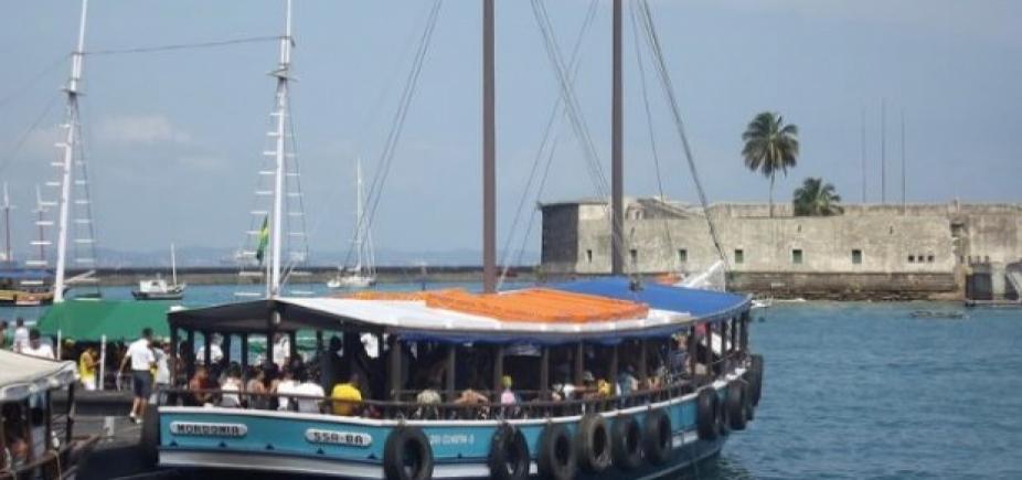 [Passeios turísticos pelas ilhas da Baía de Todos os Santos estão suspensos neste sábado]